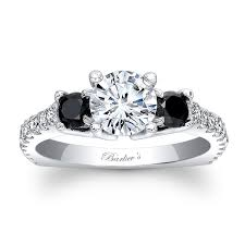 diamond wedding rings barkev s black diamond engagement ring 7925lbk