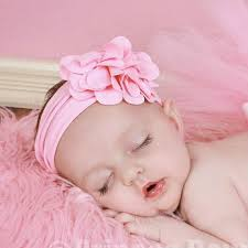 infant headbands light pink frilly all soft baby infant toddler headband