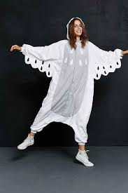 kigurumi white owl costume from urban outfitters
