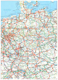 map of gemany large detailed road map of germany with all cities germany large