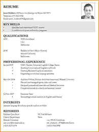 How To Make A Resume For A Job by 6 How To Write A Job Resume Bibliography Format
