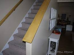 Replace Stair Banister Red Hen Home Falling Down Stairs