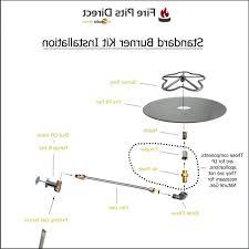Firepit Parts Gas Pit Parts Gas Burner A Gas Pit Kits Diy