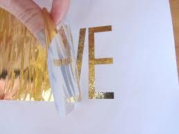 where to buy gold foil diy gold foil prints