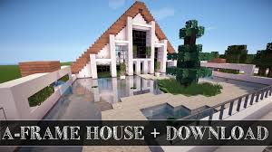 build a frame house minecraft build showcase a frame house download youtube