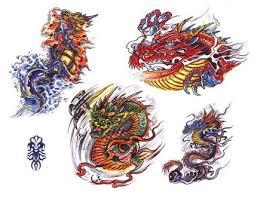 colored dragon tattoos image tattoo itattooz