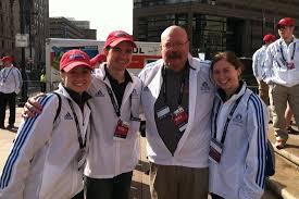 bu volunteers at 2013 marathon vow to return bu today boston
