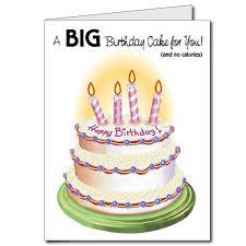 amazon com 2 u0027x3 u0027 giant birthday cake birthday card w envelope
