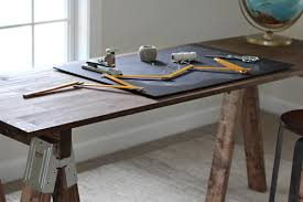 Diy Modern Desk How To Build A Sawhorse Desk For Both Rustic And Modern Offices