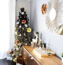 tree branch decorations in the home a kailo chic life decorate it a black and gold ombrè tree