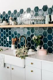 Kitchen Backsplash Tile Ideas by 10 Kitchens Where The Backsplash Is The Main Event Teal