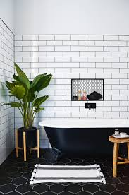 bathroom black and white floor tile patterns white and gold