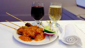 audois cuisine business class in flight meal malaysia airlines haut medoc