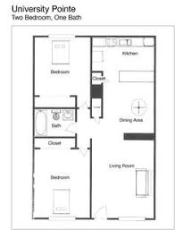 two bedroom two bath apartment floor plans 2 bedroom plan zhis me