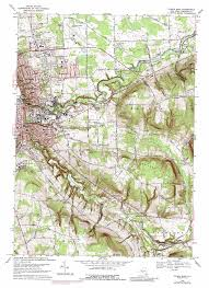 Ithaca New York Map by Ithaca East Topographic Map Ny Usgs Topo Quad 42076d4