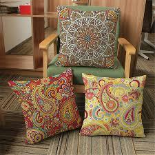 Paisley Home Decor Online Get Cheap Bohemia Throw Pillow Aliexpress Com Alibaba Group