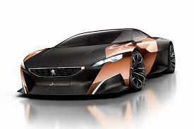 Peugeot Supercar Concept Made From Recycled Newspapers And Raw