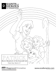 st patrick coloring pages entertain pinterest religious