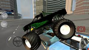 videos of monster trucks crushing cars monster truck fever driving android apps on google play