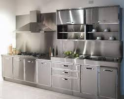 Black Metal Kitchen Cabinets Gorgeous Stainless Steel Kitchen Cabinets Best Ideas About Metal