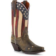 womens boots handmade dan post liberty boots flag design patriotic