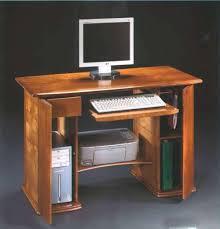 bureau informatique bois massif armoire informatique bois bureau meuble ordinateur bois brut treev co
