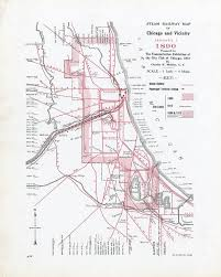 City Of Chicago Map by Rail Maps Donnelley And Lee Library Archives And Special
