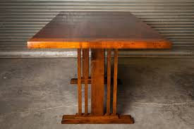 arts and craft dining table by scott parsons lumberjocks com