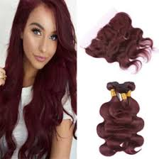 indian human hair weave au red lace frontal closure australia new featured red lace frontal