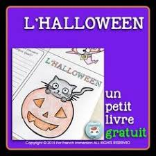 halloween reading centre game french grade 2 french