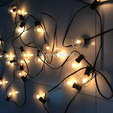 Outdoor Patio String Lights by Aliexpress Com Buy 50ft Globe String Lights G50 50 Clear Globe