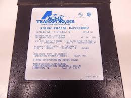 t 2 53012 s acme electric t253012s transformer 2kva 1p 240 480v
