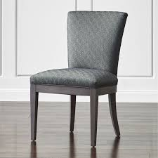 clayton upholstered dining chair crate and barrel