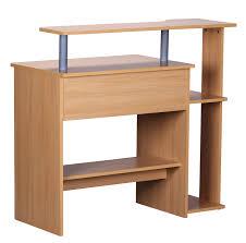 Schreibtisch 90 Cm Breit A136 Computertisch Bürotisch 90x94x48cm Buche