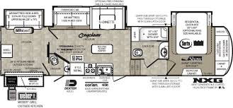 Fifth Wheel Floor Plans 5th Wheel 2 Bathroom With Ramp Floor Plans Wildcat Floorplans