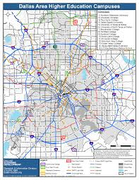 Dallas Fort Worth Area Map by Maps City Of Dallas Office Of Economic Development