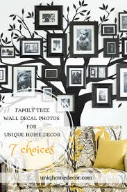 7 family tree wall decal photos for unique home decor uniq home