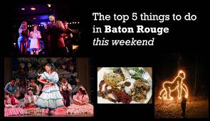 Zoo Lights Schedule by Top 5 Things To Do In Baton Rouge This Weekend Include