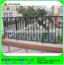 ornamental wrought iron veranda balcony fence design view