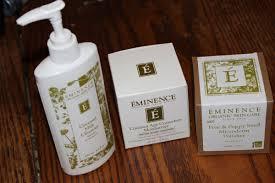 eminence organic skincare review youtube