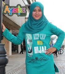 Grosir Baju Muslim jual baju kaos muslim pakaian muslimah terbaru trendy grosir