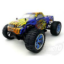 rc monster truck racing himoto 1 10 tiger rage 4x4 rc monster truck