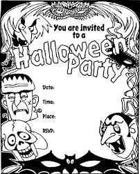 crayola halloween coloring pages halloween invitation coloring page crayola com