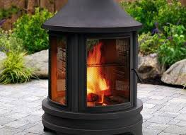 Chiminea On Wood Deck Traditional Clay Chiminea Fire Pit For Outdoor Wooden Deck Patio