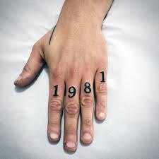70 number tattoos for men numerical ink design ideas