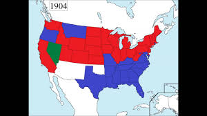 Map Of Usa And Alaska by Map Of Usa States Governors By Party Affiliation From 1775 To