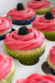 baked perfection key lime cupcakes with blackberry filling and