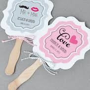 personalized wedding fans wedding fans things favors