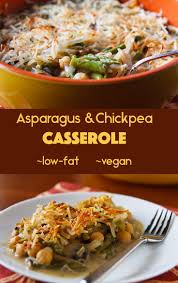 asparagus and chickpea casserole recipe