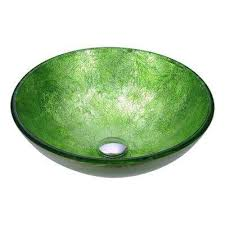green glass vessel bathroom sinks green vessel sinks bathroom sinks the home depot